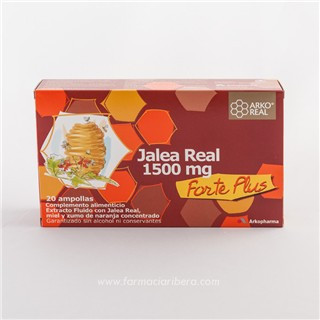 Jalea Real Arko 1500 mg. 20 Ampollas