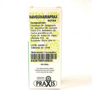 Sanguinariaprax Gotas 60 Ml.