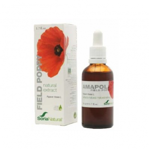Soria Natural Ext. Amapola Xxi 50 Ml. S/Al
