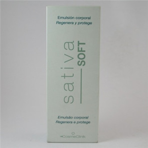 Sativa Soft Emulsion Corporal Cosmeclinik 200 Ml