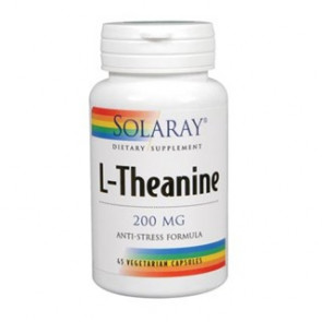 Solaray L-Theanine 200 Mg. 45 Cápsulas