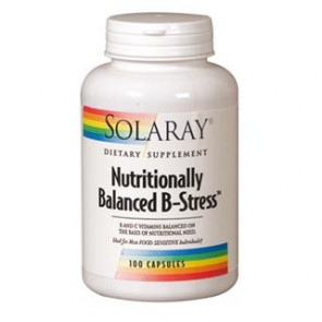Nutritionally Balenced B-Stress 100 Cápsulas.