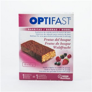 Optifast Barritas Frutas del Bosque