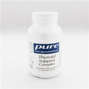 Pure Thyroid Support Complex 120 Cápsulas.