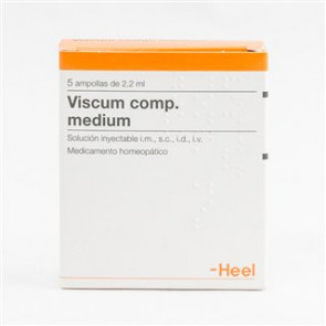 Viscum compositum medium  5 ampollas 2,2 ml