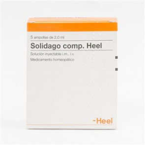 Solidago compositum Heel 5 ampollas 2,2 ml