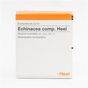 Echinacea comp. Heel 5 ampollas 2,2 ml
