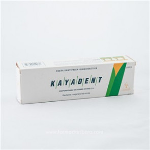 Kayadent Pasta Dentífrica 125 ml.