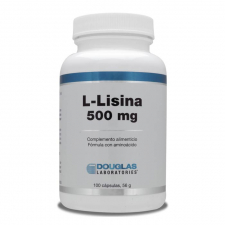 L-Lisina 500 Mg. 100 Cápsulas Douglas