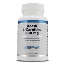 Acetyl-L-Carnitine 500 mg. 60 Cápsulas Douglas