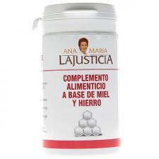 Ana María Lajusticia Hierro Con Miel 135 Gr