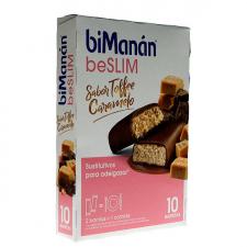 Bimanán Barritas Toffee-Caramelo 10 Barritas