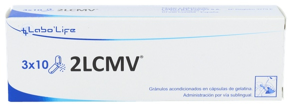 2LCMV 30 Cápsulas Labolife
