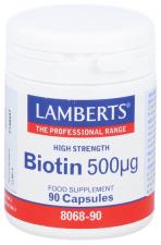 Biotin 500 UG 90 Cápsulas