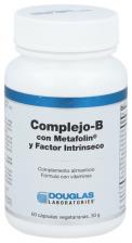 Complejo-B con Metafolin 60 Cápsulas Vegetarianas Douglas