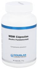 MSM Cápsulas (Azufre Fundamental) 90 Cápsulas Douglas