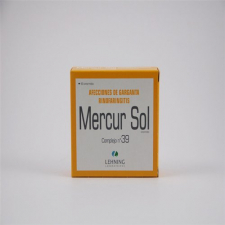 Mercurius Sol Complejo N.39 80 Comprimidos  Lehn