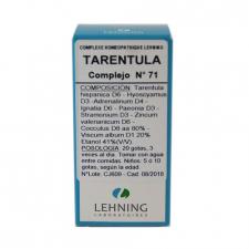 Tarentula N.71 Gotas 30 Ml Lehning