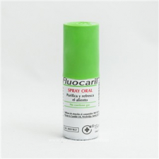 Fluocaril Spray Oral Aerosol 15 ml.
