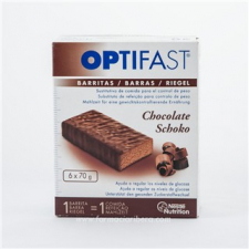 Optifast Barritas Chocolate 6 Und.