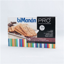 Bimanan Pro Galletas de Cereales con Piepitas de Chocolate