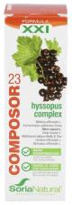Soria Natural Composor 23 Hyssopus Complex Gotas 50 Ml.
