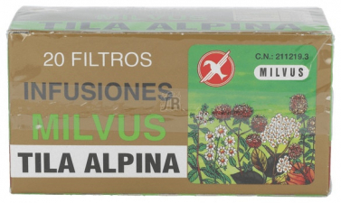 Tila Alpina Infusión 20 Filtros