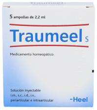 Heel Traumeel S 5 ampollas 2,2 ml